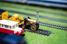 Model Train Expo at Hartzview Vineyard